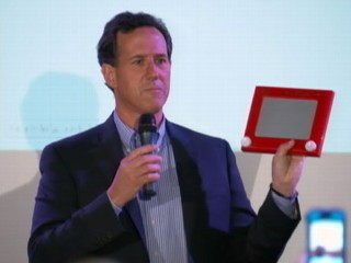 Ricky with what he thought was a new Ipad 4.